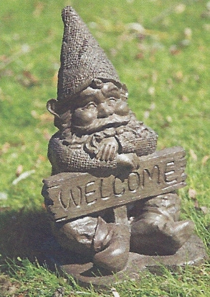 "Photo of Welcome Gnome 13.5""  - Marquis Gardens"