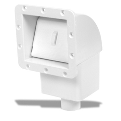 Concrete Wall Front Load Skimmer White