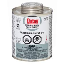 PVC Medium grey glue cement