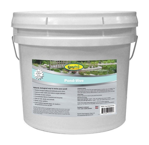 EasyPro Pond-Vive Bacteria Water Soluble Packs