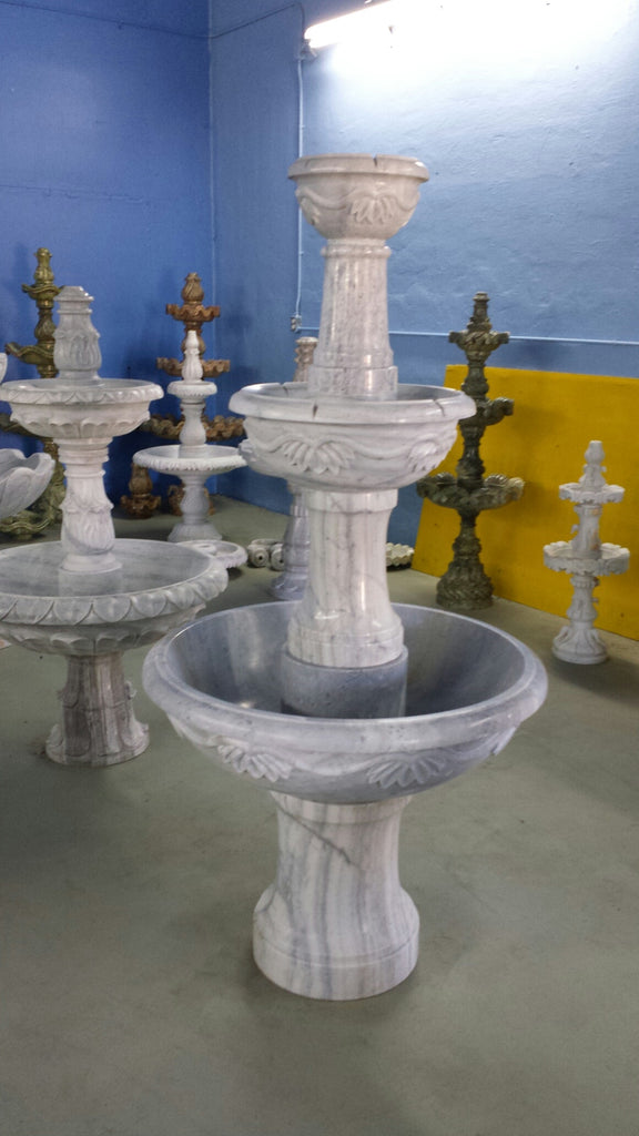 Three Tier Marble Fountain