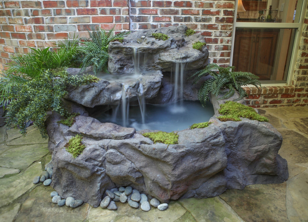 Whiskey Falls - Extra Large Patio Pond by Universal Rocks