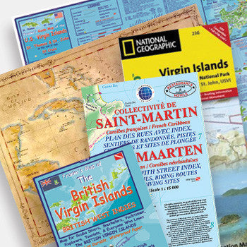 All Caribbean Maps