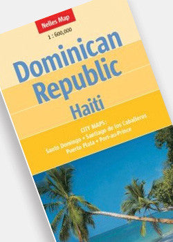 Dominician Republic & Haiti Map