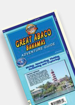 Great Abaco Bahamas Map and Adventure Guide by Franko