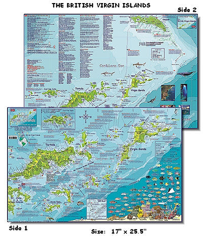 British Virgin Islands Map by Franko