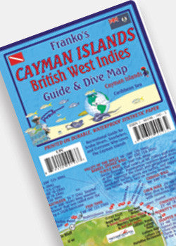 Cayman Islands Guide & Dive Map by Franko
