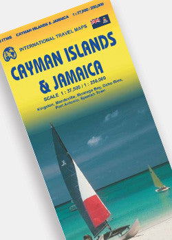 Cayman Islands & Jamaica Travel Map