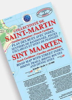Saint Martin, Sint Maarten Road Map