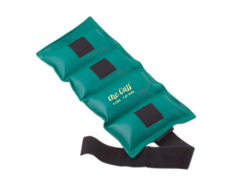 The Cuff Ankle and Wrist Weight, 4lbs (Turquoise)