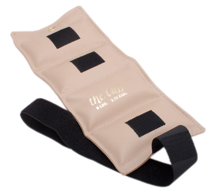 The Cuff Ankle and Wrist Weight, 6lbs (Beige)
