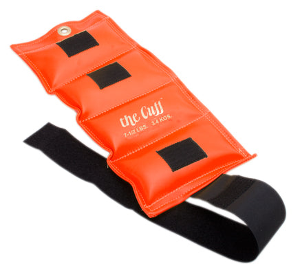 The Cuff Ankle and Wrist Weight, 7.5lbs (Orange)