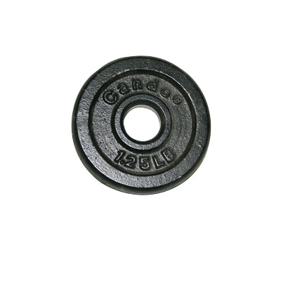 Iron Disc Weight Plate, 1.25lbs.