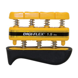 CanDo Digi-Flex Hand Exerciser, Yellow, X-Light