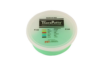 CanDo TheraPutty Exercise Putty, Green (4oz)