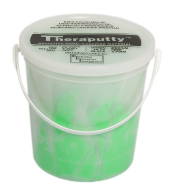 CanDo TheraPutty Exercise Putty, Green, Medium (5lb.)