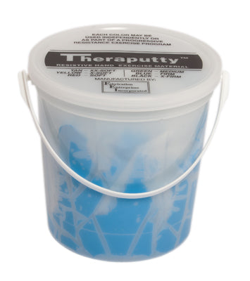 CanDo TheraPutty Exercise Putty, Blue, Firm (5lb.)
