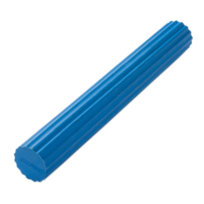 "CanDo Twist-n-Bend Flexible Exercise Bar, Blue (12"")"