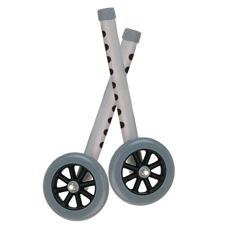 "Extended Height Walker Wheels and Legs Combo Pack, 5"" Wheels, 1 Pair"