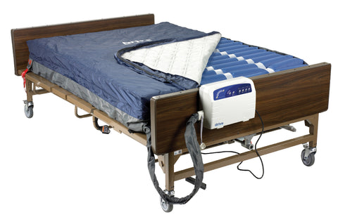 "Med Aire Plus Bariatric Low Air Loss Mattress Replacement System, 80"" x 54"""