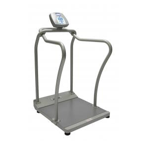 "Health O Meter Digital Platform Scale with Handrails, 26"" x 22"""