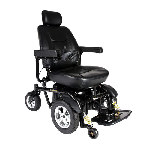 "Trident HD Heavy Duty Power Wheelchair, 24"" Seat"