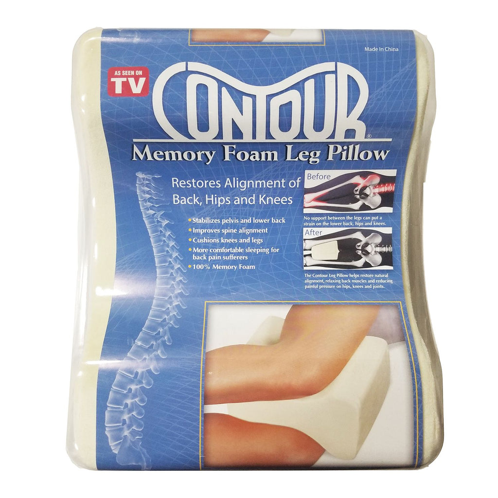 Contour Memory Foam Leg Pillow, Soft