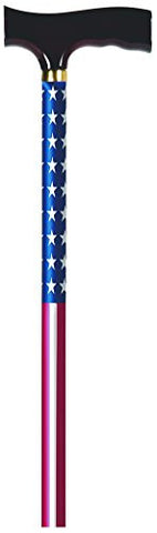 Carex Derby Designer Cane (U.S. Flag)