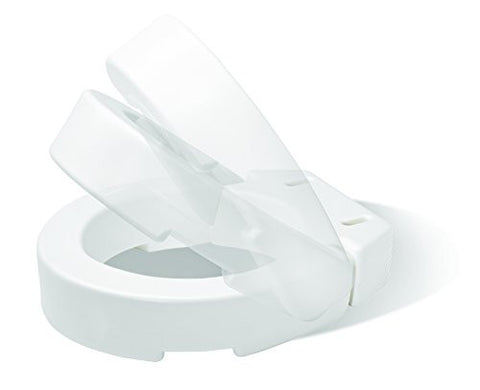 Carex Hinged Toilet Seat Riser (Elongated)