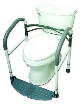 Hermell Foldeasy Port Safety Toilet Frame