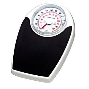 Health O Meter Mechanical Floor Dial Scale,lb/kg,330lb/150kg Capacity