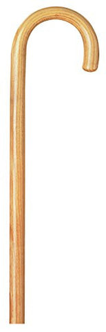 "Carex Round Handle Wood Cane (Natural, 1"")"