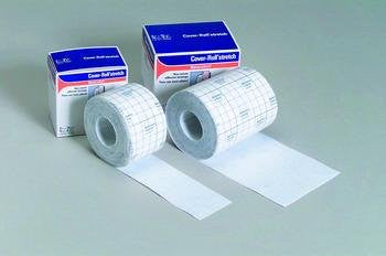 "Adhesive Gauze Bandage, 4"" x 10 Yards (1x cover-roll)"