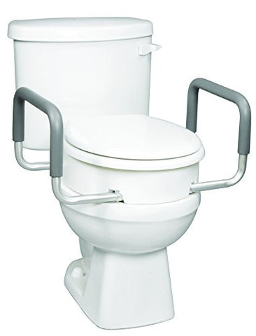 Carex Toilet Seat Elevator with Handles (Round)