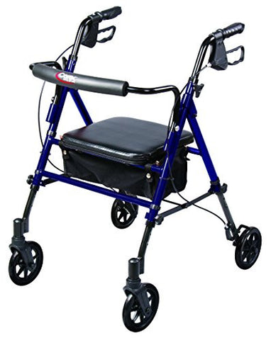 Carex Step 'N Rest Rolling Walker