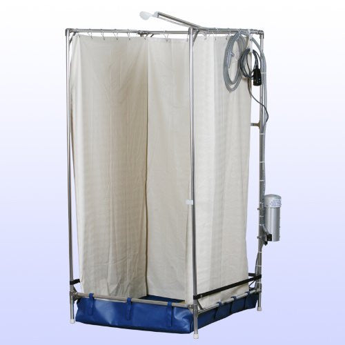 Mobile Portable Emergency Hazmat Shower System (Made to Last in the USA)
