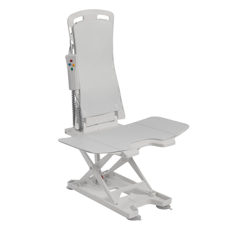 Drive Medical Bellavita Tub Chair Seat Auto Bath Lift, White