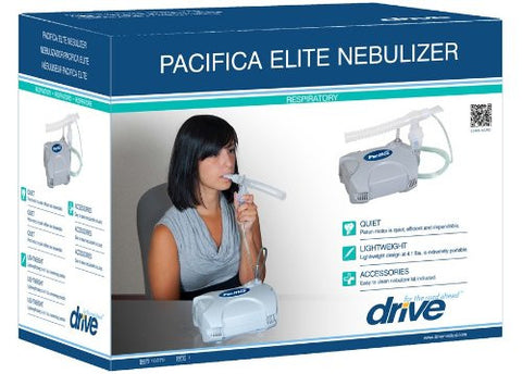 Pacifica Elite Nebulizer with Reusable and Disposable Neb Kit