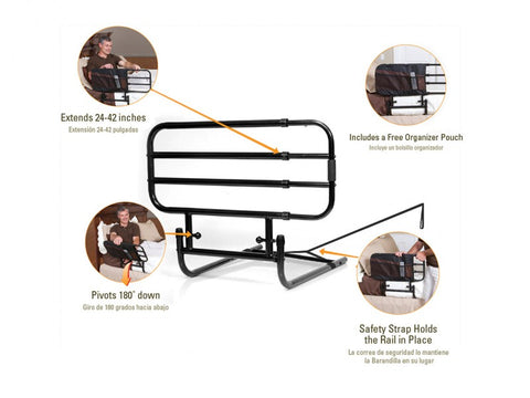 Stander EZ Adjust Bed Rail