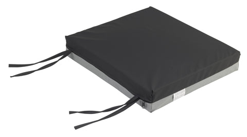 "Gel-U-Seat Gel/Foam Cushion, 18"" x 20"" x 3"""