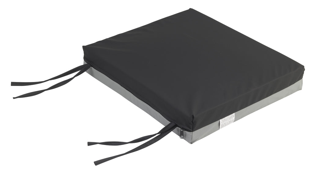 "Gel-U-Seat Gel/Foam Cushion, 18"" x 22"" x 3"""