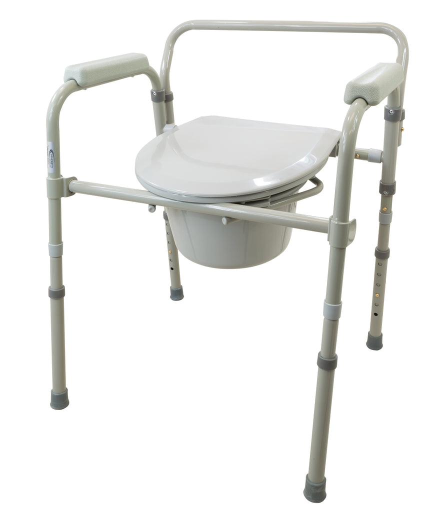 3-in-1 Folding Commode