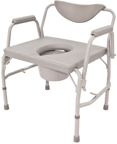 "24"" Drop Arm Heavy Duty Commode"