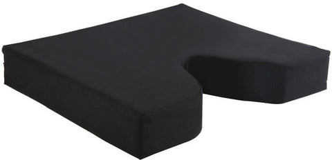 "Memory Foam Coccyx Seat Cushion, 18""x16""x3"""