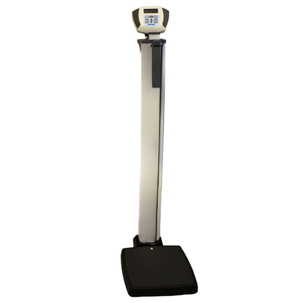 Health O Meter Digital EMRscale Eye Level Scale with Digital Height Rod & Automatic BMI