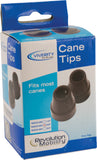 "Cane Rubber Tip, for 5/8"" Shaft"