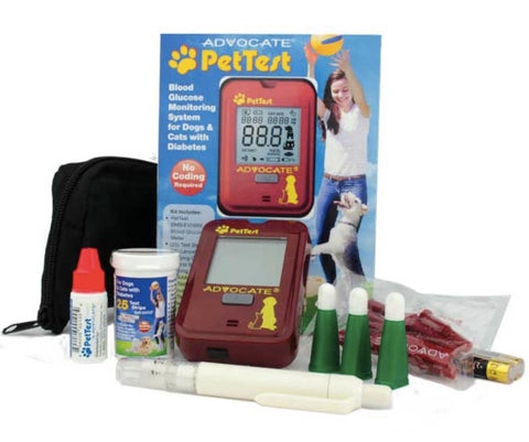 PetTest Dog & Cat Blood Glucose Monitoring System
