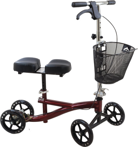 Roscoe Knee Scooter, Burgundy
