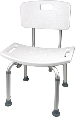 Adjustable Shower Chair With Back