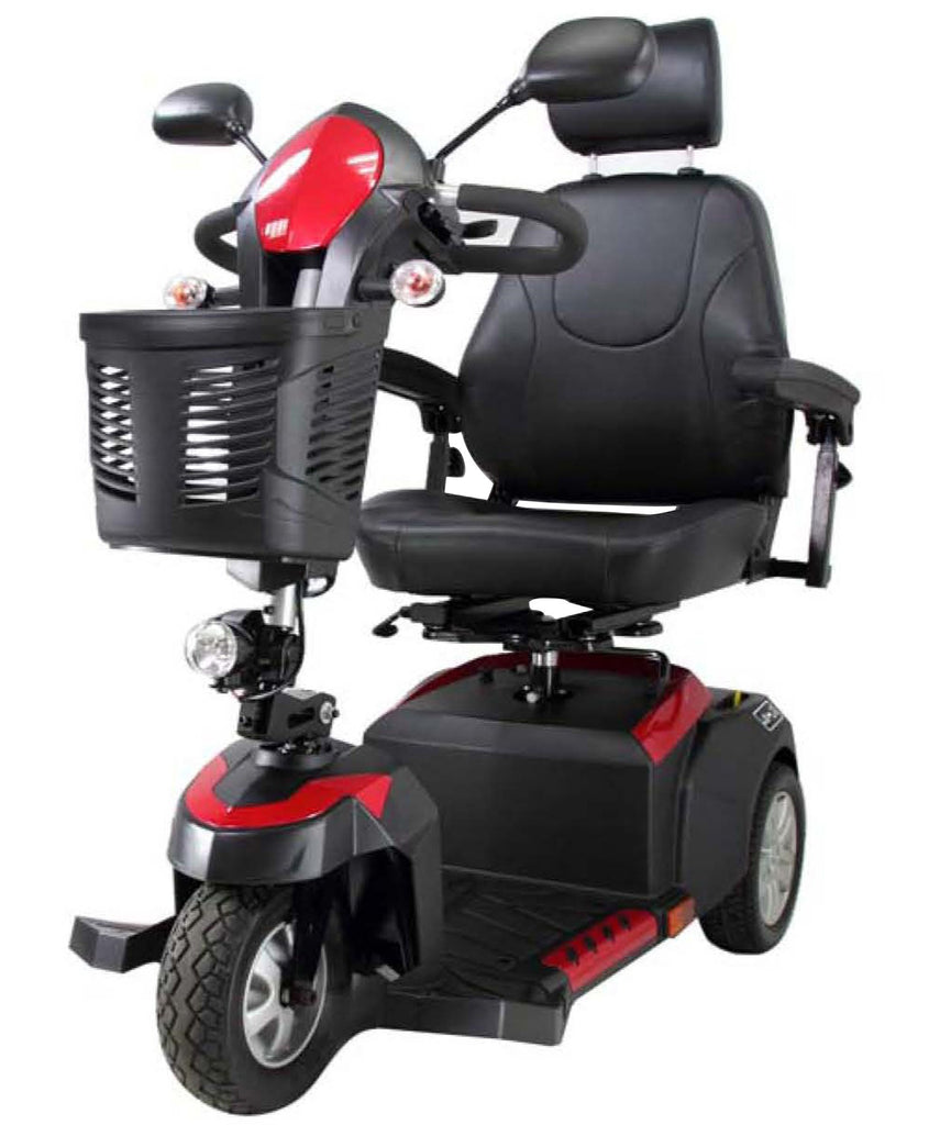 "Ventura 3 DLX 18"" Captain's Seat 3-Wheel Deluxe Power Mobility Scooter"